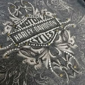 Harley Davidson bling thermal top